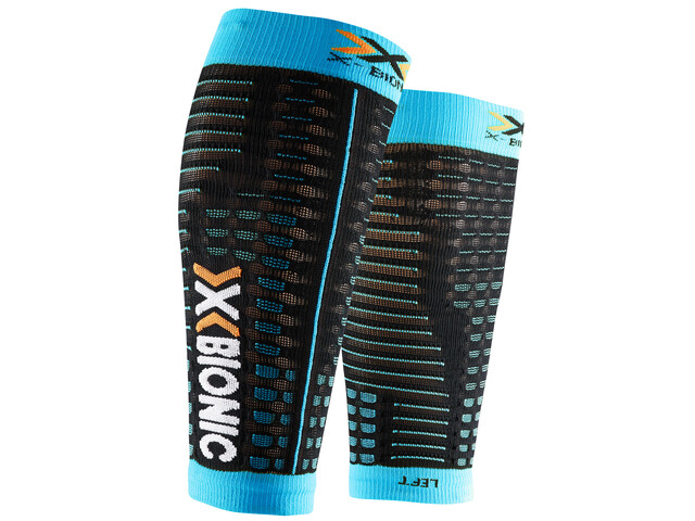 X-Bionic Spyker Competition Leg Warmer Women black/turquoise